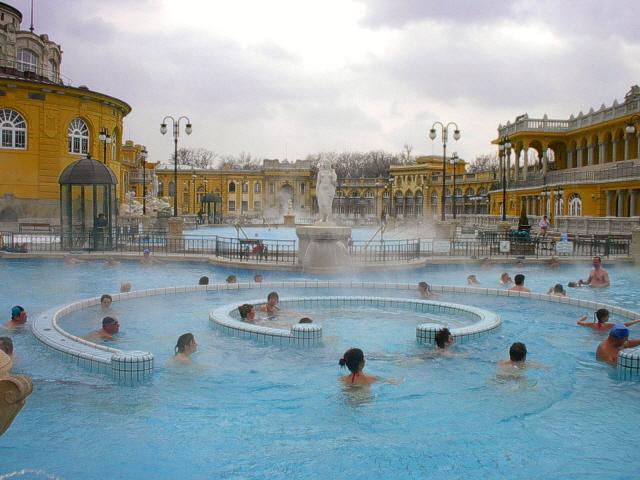 Budapest guidata - Bagni termali di Budapest