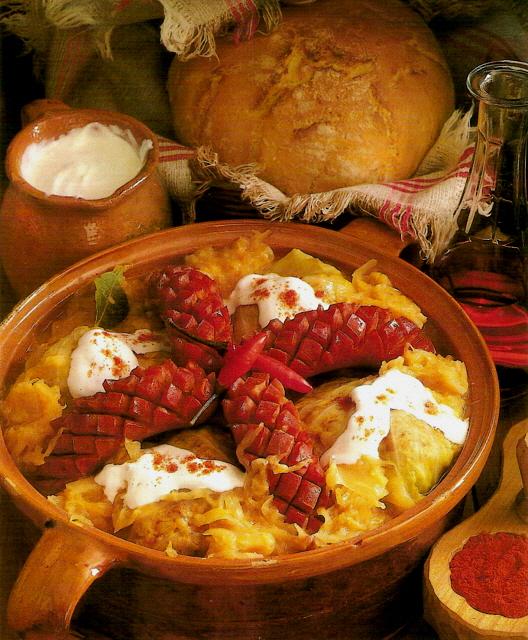 Specialit ungheresi piatti tipici prodotti for Disegni del mazzo sul basamento degli scioperi